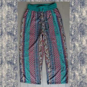 Blugirl Boho hippie gypsy marrakech printed pants